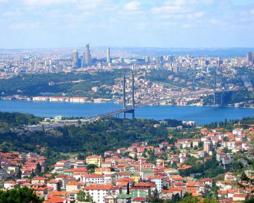 Asian Side of Istanbul ( Çamlıca Hill )